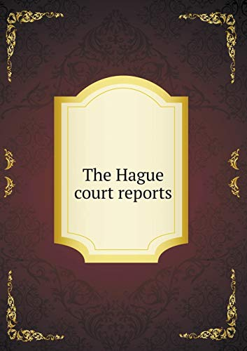 9785519145954: The Hague court reports