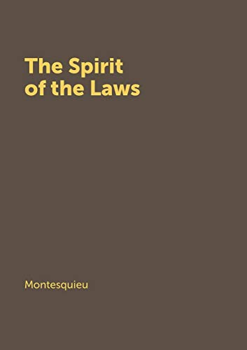 9785519151740: The Spirit of the Laws