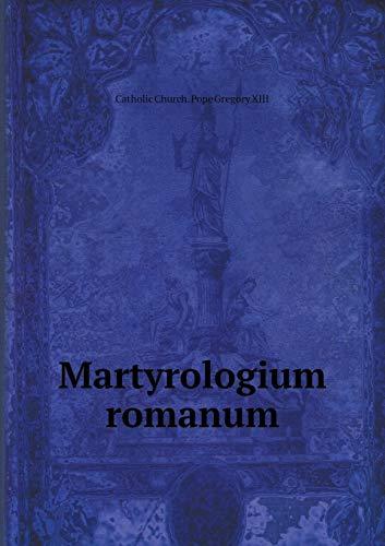 9785519160995: Martyrologium romanum