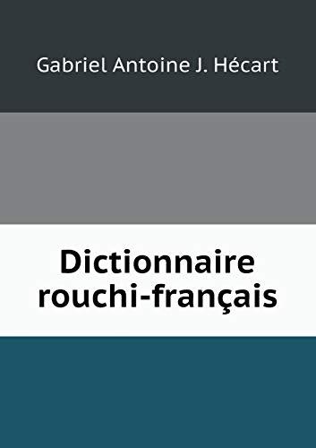 9785519172745: Dictionnaire rouchi-français (French Edition)