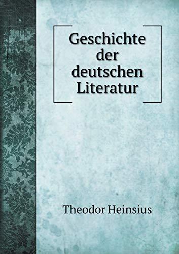 9785519175678: Geschichte der deutschen Literatur