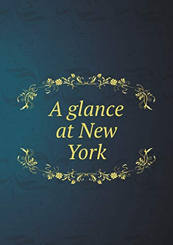 9785519183482: A glance at New York