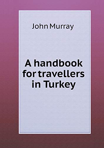 9785519202848: A handbook for travellers in Turkey