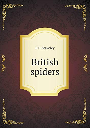 9785519228671: British spiders