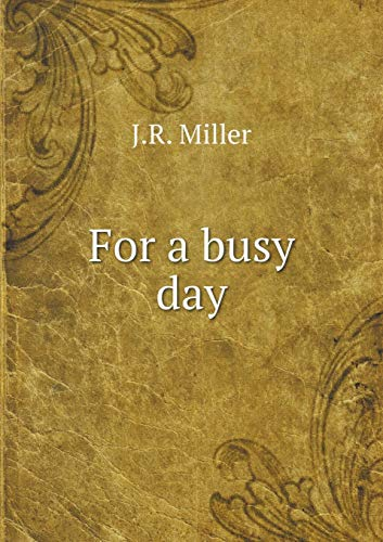 9785519272704: For a busy day