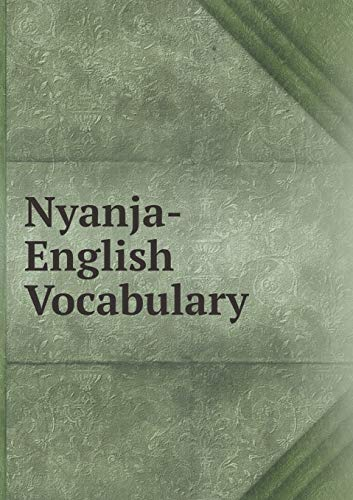 9785519295659: Nyanja-English Vocabulary