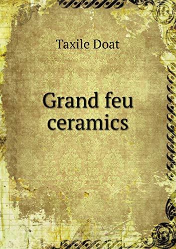 9785519309622: Grand feu ceramics