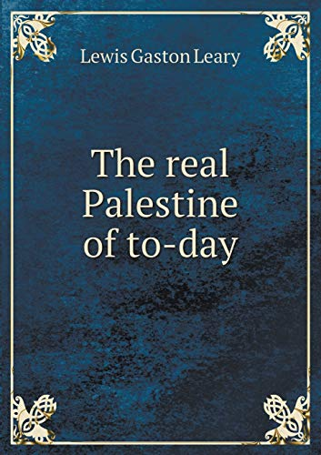 an analysis of christian reality in palestine This is the general context in which christian-muslim muslim-christian relations: historical and muslim-christian relations: historical and contemporary.