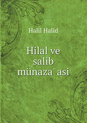 9785519315043: Hilal ve salib münaza' asi (Turkish Edition)