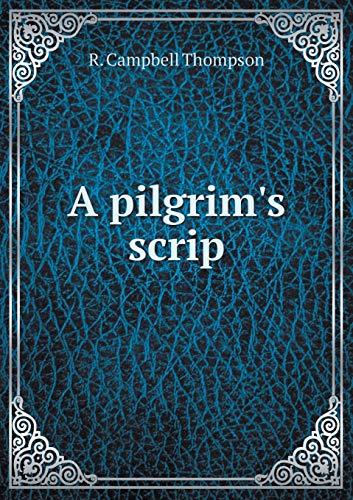9785519319775: A pilgrim's scrip