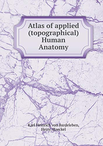 9785519327749: Atlas of applied (topographical) Human Anatomy