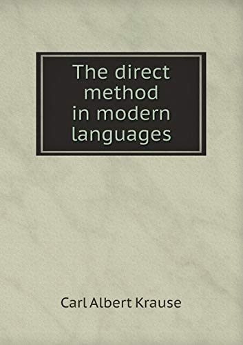 9785519328913: The direct method in modern languages