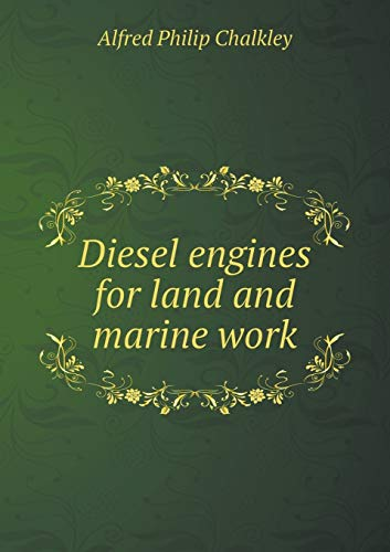 9785519330039: Diesel engines for land and marine work