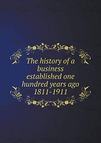 The History of a Business Established One: Edw K Tryon