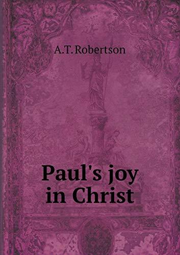 9785519339827: Paul's joy in Christ