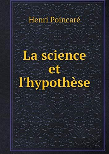 9785519344067: La science et l'hypothèse (French Edition)