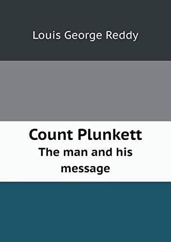 9785519346108: Count Plunkett The man and his message