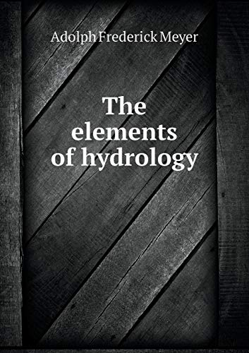 9785519347921: The elements of hydrology