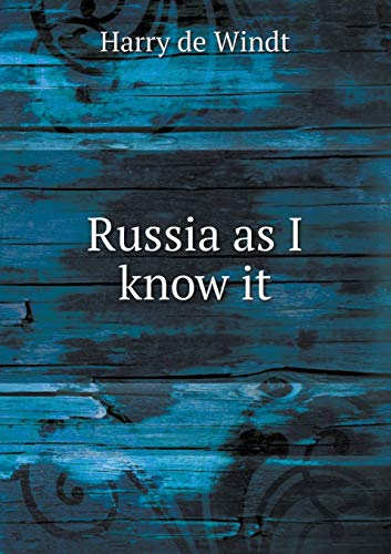 9785519349802: Russia as I know it