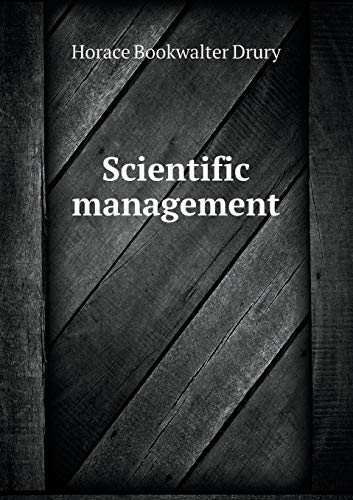 9785519351218: Scientific management