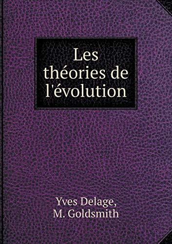 9785519468787: Les théories de l'évolution (French Edition)