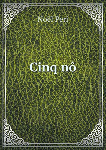 9785519476485: Cinq nô (French Edition)