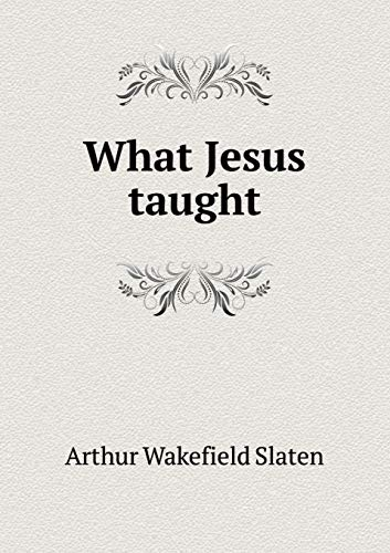 9785519483797: What Jesus taught