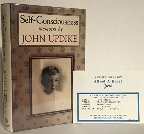 9785550045329: Self-Consciousness: Memoirs