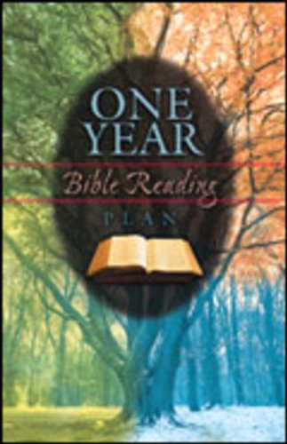9785550047231: One Year Bible Reading Plan (Pack of 25)