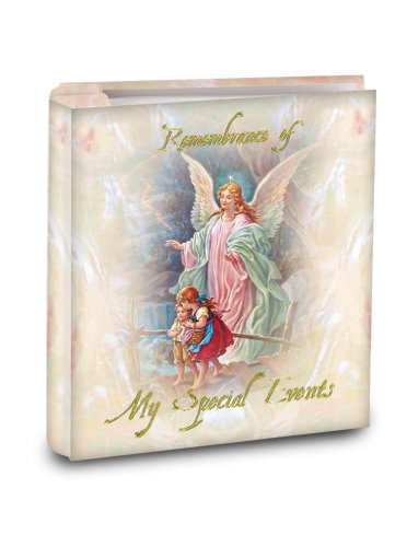 9785550054987: Guardian Angel Photo Album: 5 X 6 1/2, Complete with Remembrance Certificate and Holds Up to 100, 4x6 Photos.