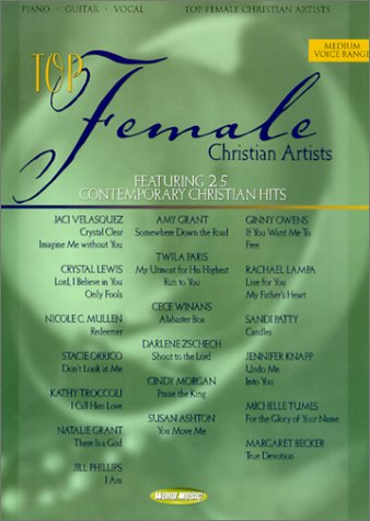 9785550063651: Top Female Christian Artists: Featuring 25 Contemporary Christian Hits