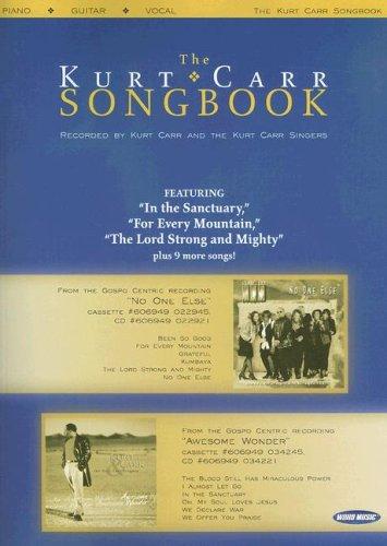 9785550063835: The Kurt Carr Songbook