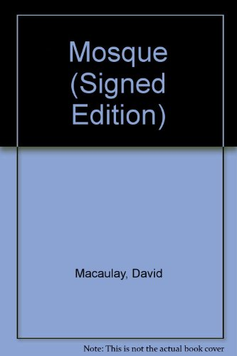 9785550156940: Mosque (Signed Edition)