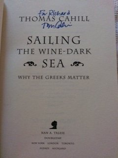 Sailing the Wine- Dark Sea, Why the Greeks Matter (5550156962) by Cahill, Thomas