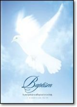 9785550176641: Blue/Dove Baptism Certificate: 5x7