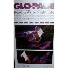 9785550734902: Glo-Page Read-N-Write Night Light