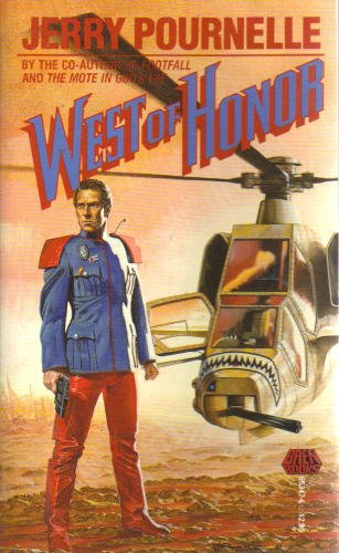 West of Honor (5550929929) by Jerry Pournelle; Wayne Barlowe