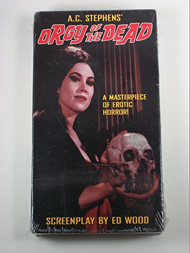 9785551036012: Orgy of the Dead [VHS]