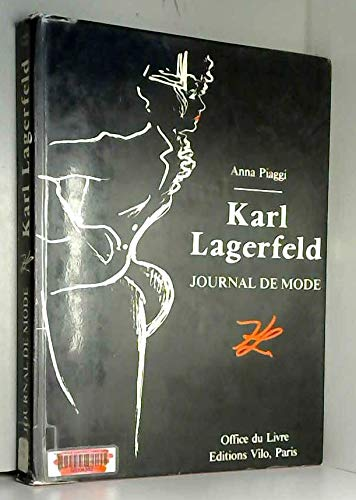 9785551656067: Lagerfeld's Sketchbook: Karl Lagerfeld's Illustrated Fashion Journal of Anna Piaggi.