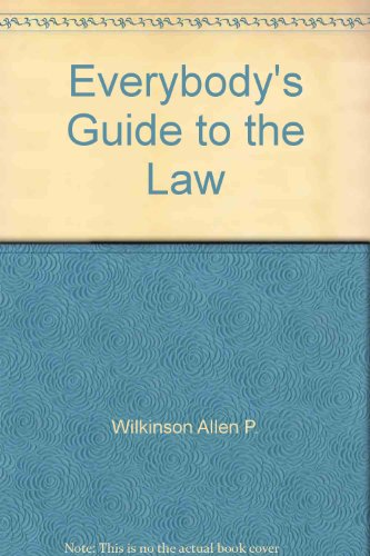 9785551776451: Everybody's Guide to the Law