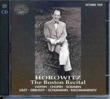 9785552141913: Vladimir Horowitz in Boston