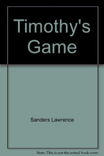 9785552268474: Timothy's Game