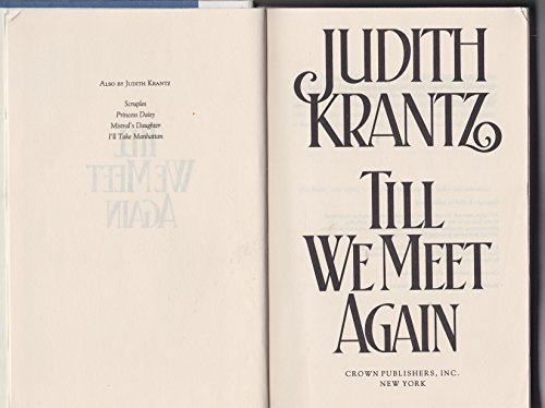 9785552331482: Title: Till We Meet Again