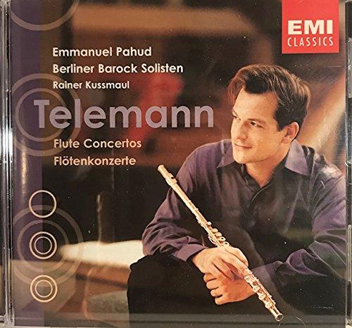 9785552392230: Telemann: Flute Concertos