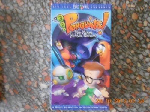 9785552424047: 3-2-1 Penguins!: The Doom Funnel Rescue! [VHS]
