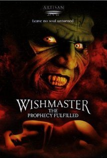 9785552579419: Wishmaster 4: The Prophecy Fulfilled [VHS]