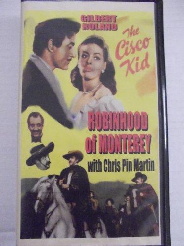 9785554411120: Cisco Kid-Robin Hood of Monterey [VHS]