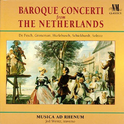 9785555134820: Baroque Concerti Form the Netherlands