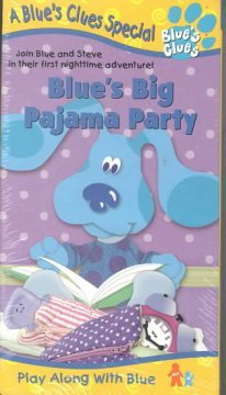 9785555658395: Blue's Clues: Big Pajama Party [VHS]