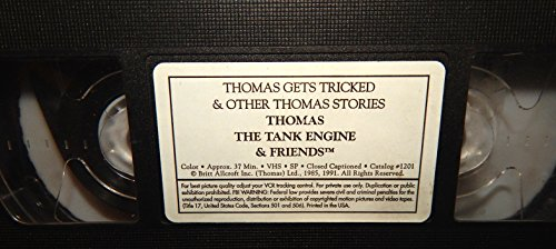 9785555780812: Thomas & Friends: Thomas Gets Tricked & Other Stories [VHS]